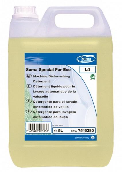 Suma Special Pur-Eco L4. Media durezza. 5 litri