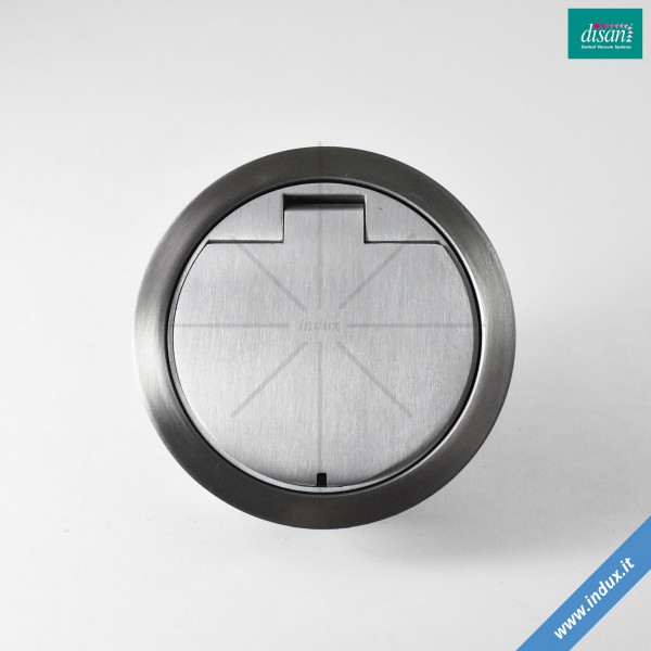 Kit per presa aspirante a pavimento in acciaio