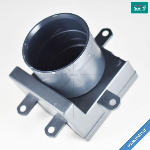 Contropresa quadrata aspiratore centralizzato. Serie Majestic/Olympia/Royal