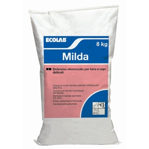 Milda detersivo fibre delicate. Conf. 8 kg