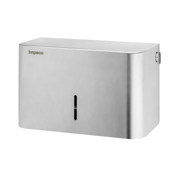 Dispenser asciugamani Impeco in acciaio temperato