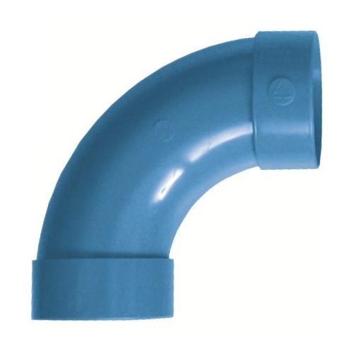 Curva in PVC curva 90° F/F con battente