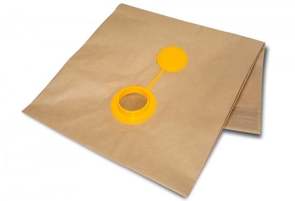 Sacchetti filtro in carta con tappo per Ghibli AS9, AS12, AS59/590, AS400, SP8/P Finedust/combi, SP9