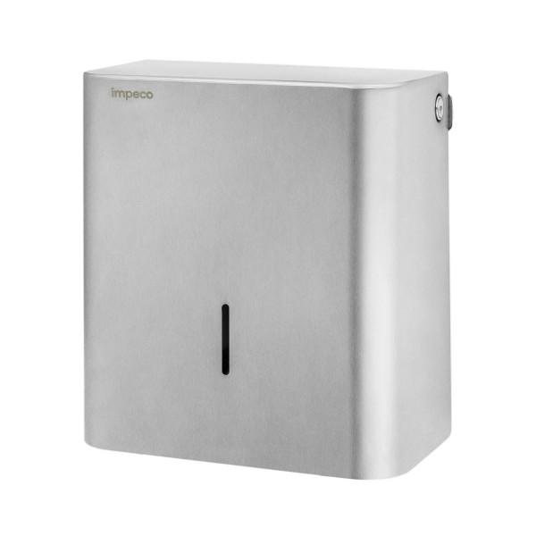 Dispenser carta igienica Impeco in acciaio
