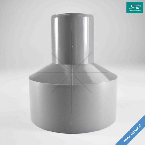 Riduzione conica M/F in PVC