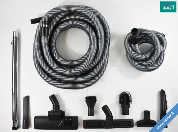 Set Deluxe accessori aspirazione per impianto centralizzato. Tubo 7,5m