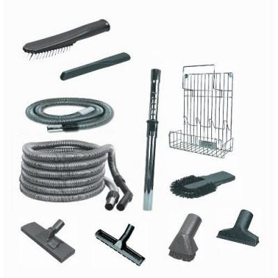 Set Standard Super accessori aspirazione per impianto centralizzato. Tubo ON/OFF