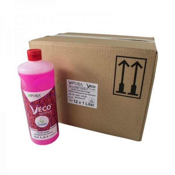 Detergente per sanitari Vipura. 12 l