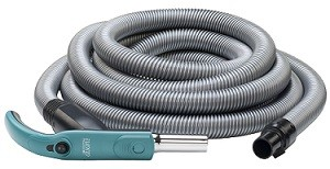 Con Interruttore ON-OFF sullImpugnatura Set Tubo Flessibile e Kit Accessori per Aspirapolvere Centralizzato lunghezza 9 Metri