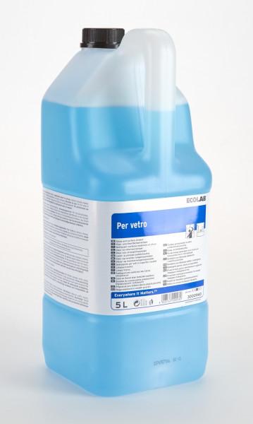 Ecolab - Per Vetro detergente per vetri 2x5L