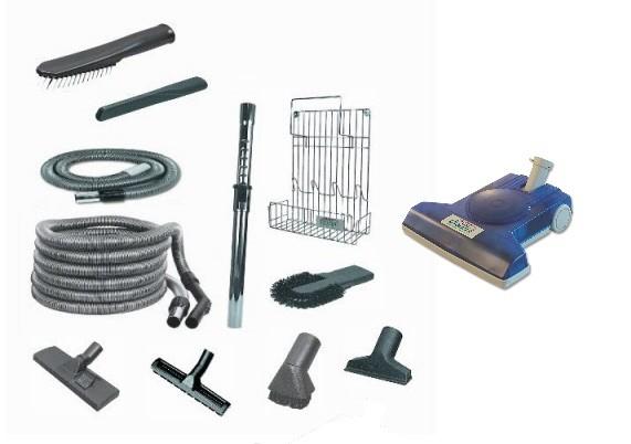 Set Professionale accessori aspirazione per impianto centralizzato