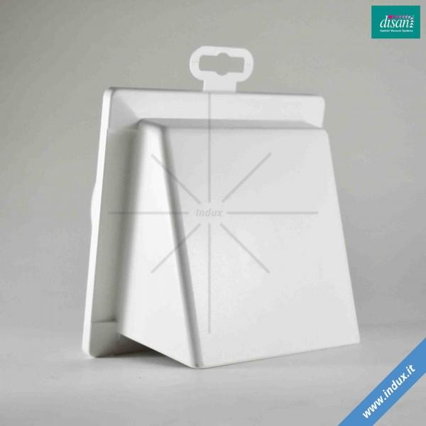 Valvola di sfiato in PVC con riduzione conica