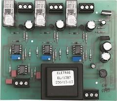 Dispositivo elettronico per 3 motori