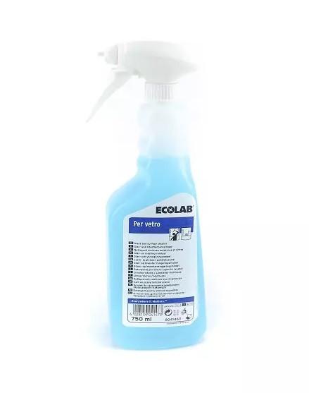 Ecolab - Per Vetro detergente per vetri 12x750ml